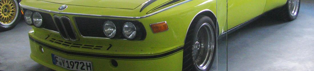 BMW E9 Treffen in Frankfurt