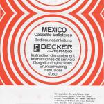 Betriebsanleitung - Becker Radio_01