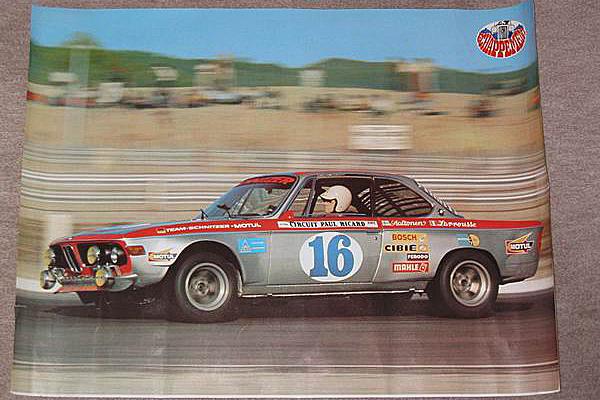 Poster BMW 2800 CS