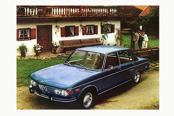 Karte vom BMW 2800