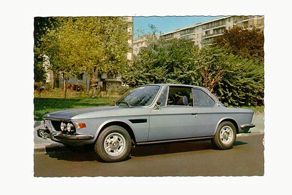Postkarte BMW CS
