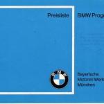 Preisliste BMW Programm IV-68_01