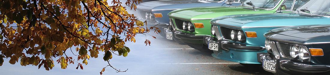Herbst und BMW E9