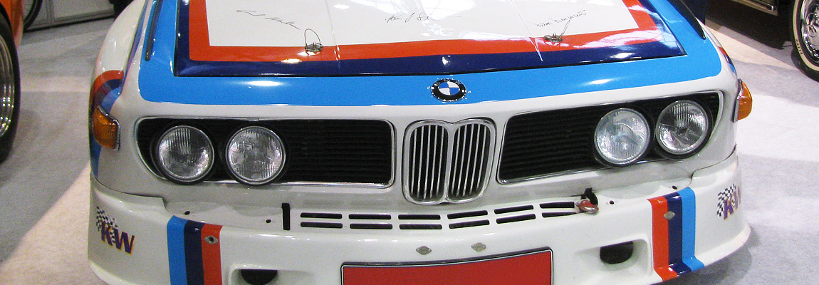 Der BMW E9 auf Messen