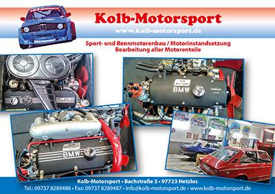 Werbeanzeige Kolb Motorsport